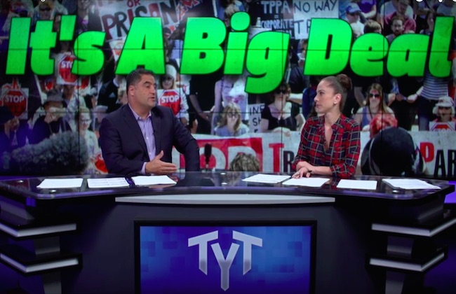 The Young Turks: TPP deal still lacks transparency!