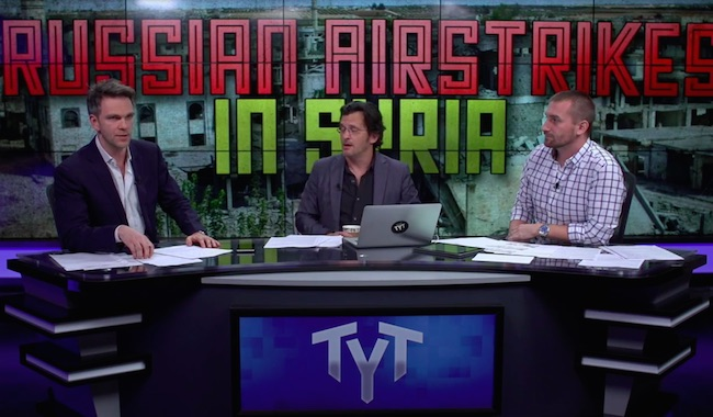 "The Young Turks on Russia's airstrikes in Syria: ""Russia is not going to do anything in there that doesn't help Assad."""