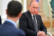 Putin repeats firm stance on warplane downing, support for Assad