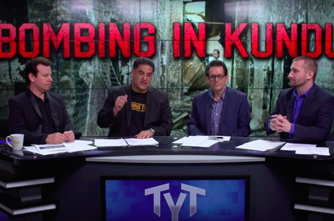 The Young Turks on what happened to Doctors Without Borders in Kunduz: The rules are gone!