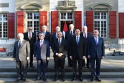 Azerbaijani and Armenian leaders hold talks over Nagorno Karabakh in Switzerland