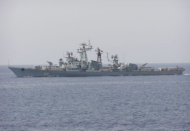 Russian warship fires warning shots to avoid collision with Turkish fishing boat in Aegean Sea