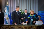 Malvinas 'a constitutional issue, not optional'; plans for a South Atlantic secretariat which includes Antarctica