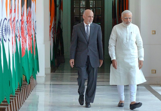 Why does India want more presence in Afghanistan?