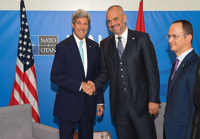 Edi Rama vs. Donald Trump! Why?