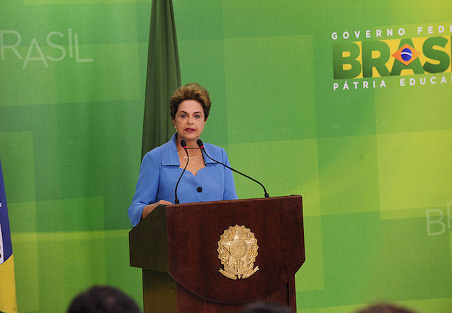 "Rousseff vows to keep fighting the ""coup"" that pretends to ignore her 54 million votes"