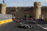 Azerbaijan hosts European Grand Prix