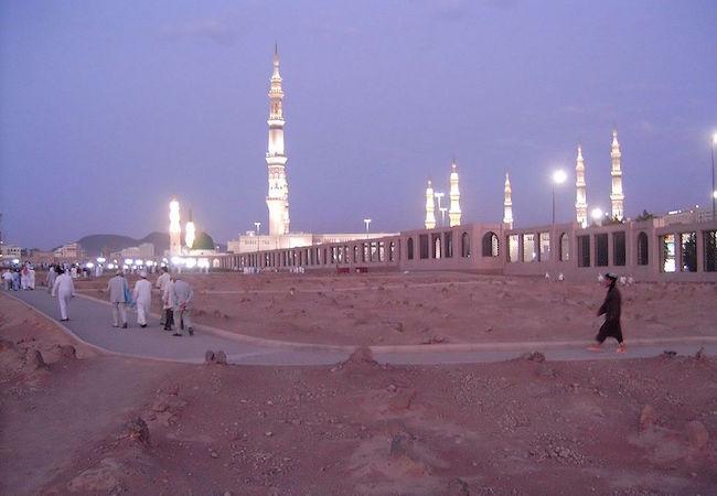 Explosion near Saudi's Medina holy site