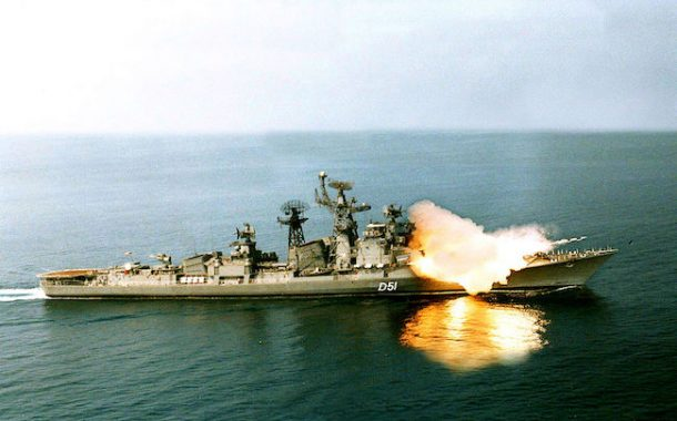 India's naval modernization and implications for South Asian region