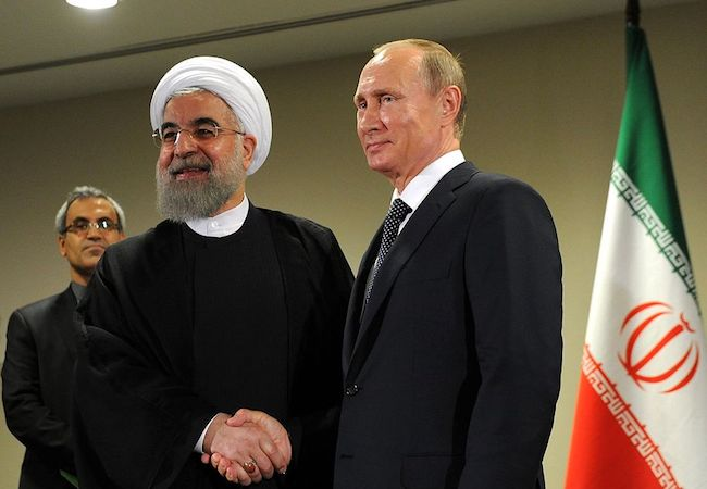 Iran-Russia alliance: A balancing behaviour or a bandwagoning conduct
