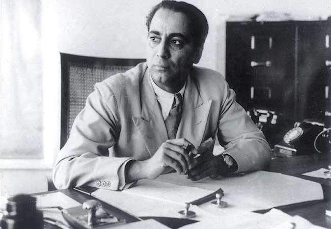 Dr Homi Bhabha - a great visionary and the architect of nuclear India