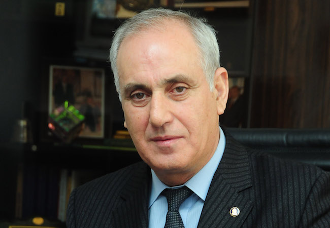 Aslan Aslanov, Director of AZERTAC (Photo: Courtesy of Azerbaijan State News Agency)