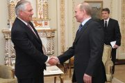 Donald Trump picks businessman Rex Tillerson as his foreign minister to improve ties with Russia