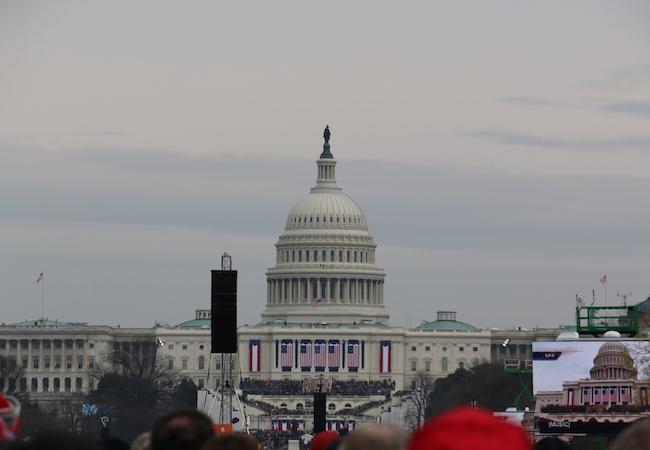 Inauguration speech of President Donald J. Trump