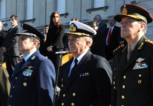 Cristina Fernandez ex Army chief arrested for alleged torture and kidnapping