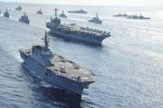 Japan dispatches warship to protect US vessel