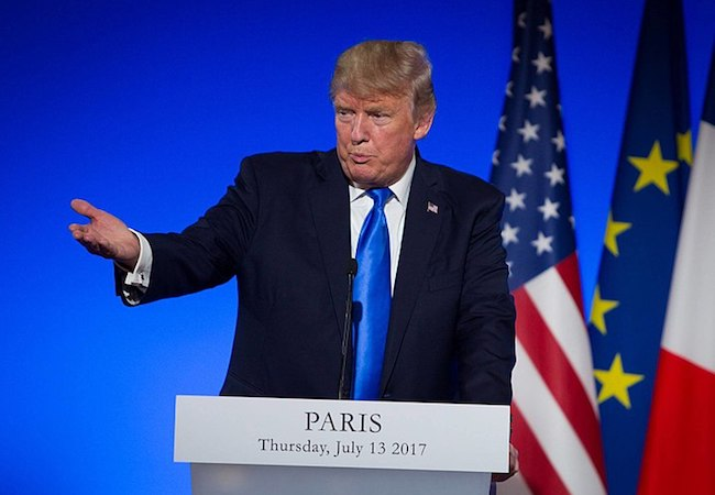 Donald Trump and the Paris climate deal