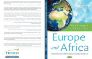 Europe and Africa – Similarities and differences in security structures