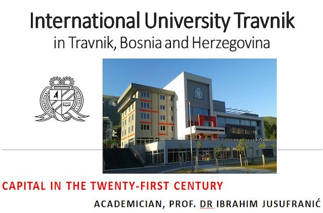 IUT Chancellor Ibrahim Jusufranić Held an motivational lecture at Kaunas faculty, Lithuania
