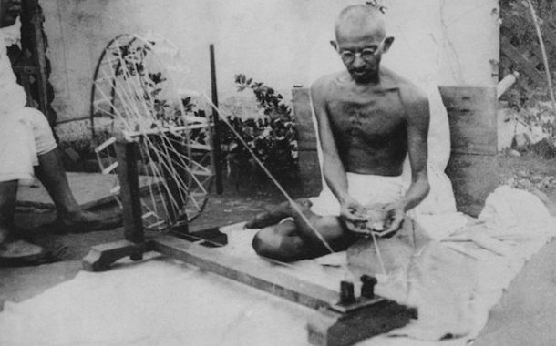 Was Gandhi an apostle of peace?