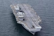 Royal Navy's largest ever vessel leaks: some 200 liters of water per hour