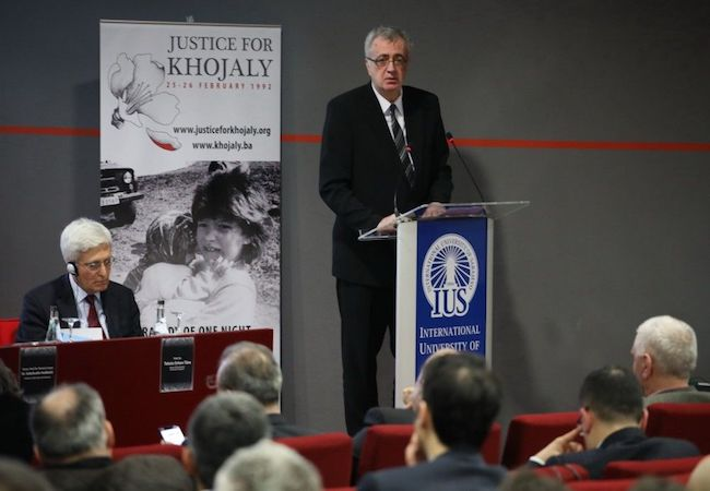 IUS International conference commemorates 26th anniversary of Khojaly Genocide in Azerbaijan