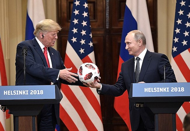 Trump's Helsinki meeting - an opportunity for foreign policy growth on the left