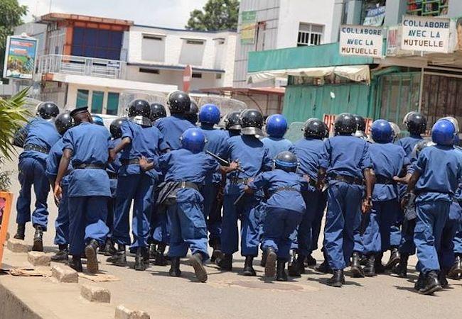 Failed institutions in Burundi