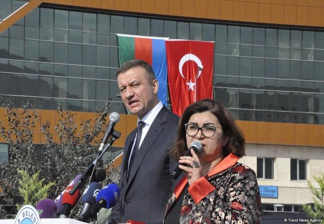Monument to Khojaly victims unveiled in the Turkish city of Kayseri