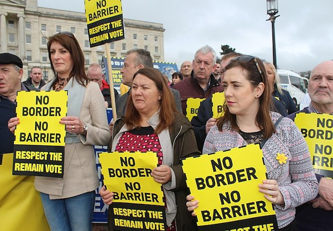 Brexit is a rejection of the Good Friday Agreement for peace in Northern Ireland